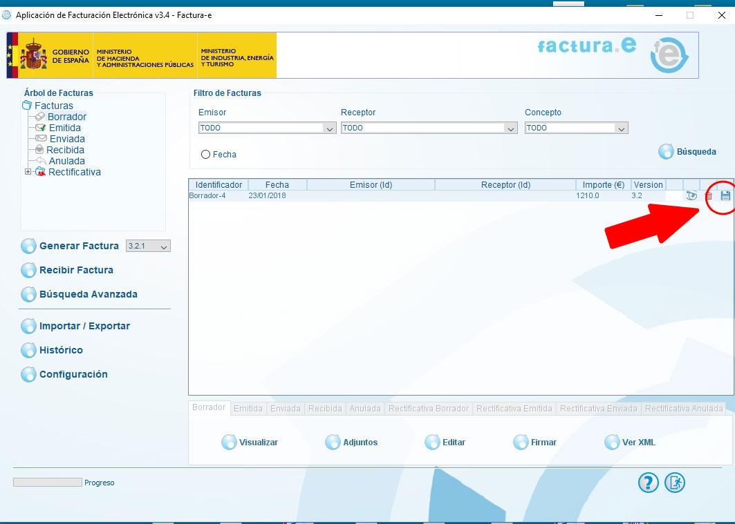 solucionar-problemas-de-informatica - problemas al remitir facturas de facturae - 1