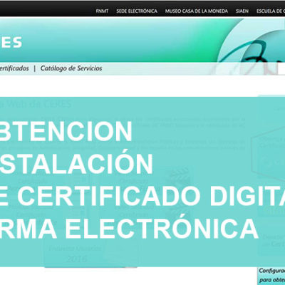 Ayuda informática a distancia - Informaticademadrid.com - Certificado digital firma electrónica