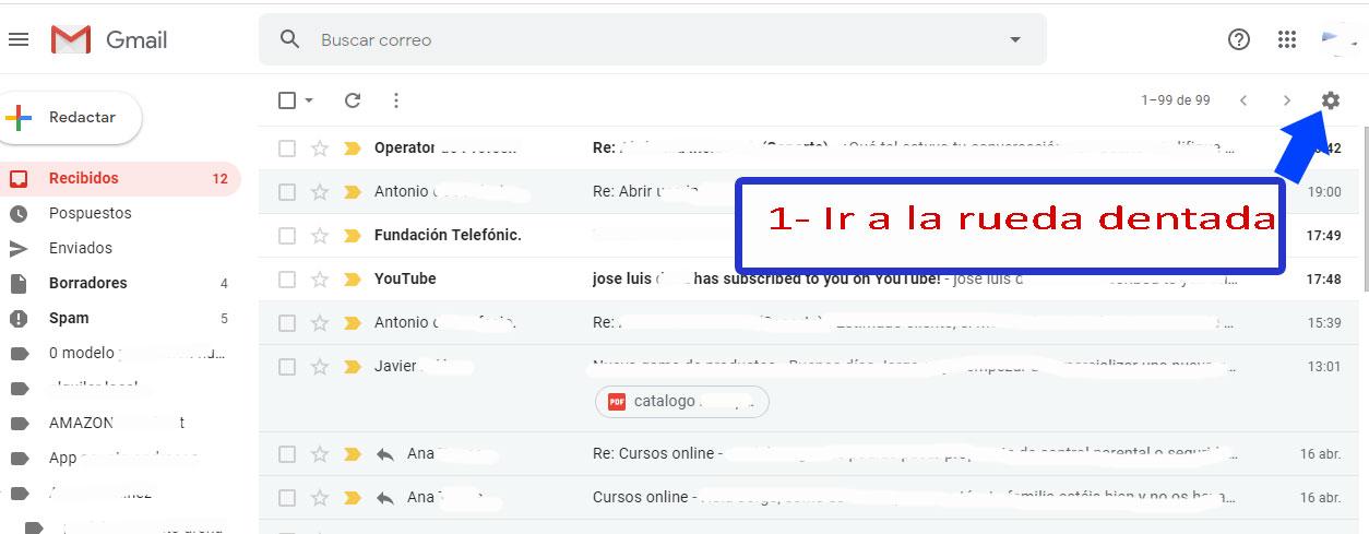 Desarrollo de páginas web y tiendas online - Informaticademadrid - Configurar Enviar como en Gmail-1