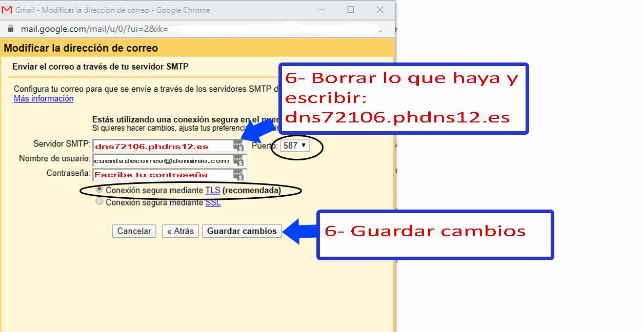 Desarrollo de páginas web y tiendas online - Informaticademadrid - Configurar Enviar como en Gmail-5